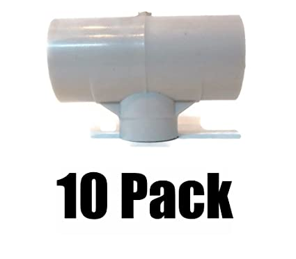 """10 1//2/"""" PVC ADAPTORS FOR AUTOMATIC WATERER DRINKER CUP //NIPPLE CHICKEN POULTRY"""
