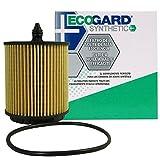 ECOGARD S5436 Cartridge Engine Oil Filter for Synthetic Oil - Premium Replacement Fits Chevrolet Equinox, Malibu, Cobalt, HHR, Cavalier, Classic, Captiva Sport, Impala, Orlando / GMC Terrain