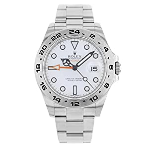 Best Epic Trends 51uZoRpXYgL._SS300_ New Rolex Explorer II Stainless Steel Mens Watch 216570 W