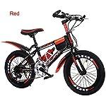 OPIB-Bicicletta-da-Bambino-20-Pollici-Mountain-Bike-7-velocit-per-Ragazzi-e-Ragazze-Unisex-con-Ruote-Freestyle