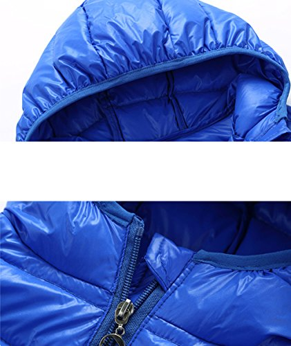 Kids Children Vest Winter Royalblue Jacket Chic Lemonkids;® Lightweight Outwear Hooded awdpn5q