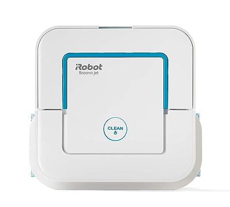 iRobot Braava Jet 250 Robot friegasuelos, Blanco: Amazon.es: Hogar