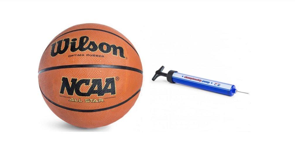 Wilson Baloncesto y Bomba de Aire con Agujas de Extra: Amazon.es ...