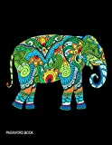 Password Book: Beautiful Elephant The Personal