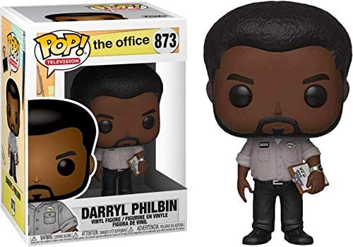 Funko TV: The Office - Darryl Philbin Pop! Vinyl Figure (Includes Compatible Pop Box Protector Case)