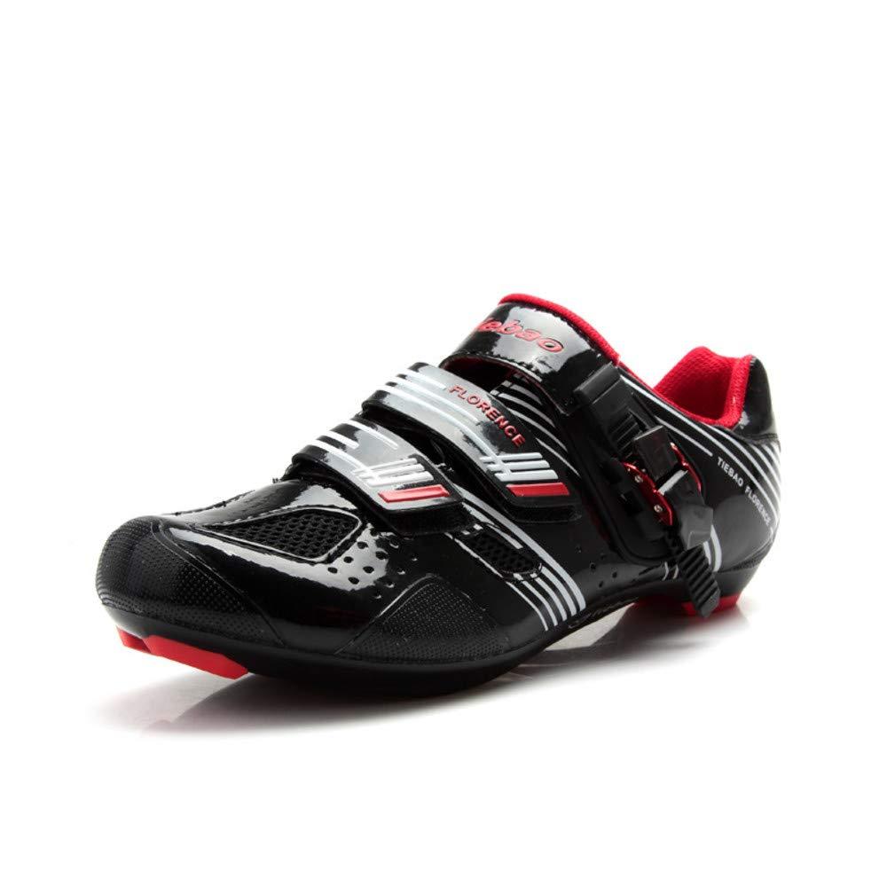 Tiebao - Zapatillas de Ciclismo de Sintético para Hombre