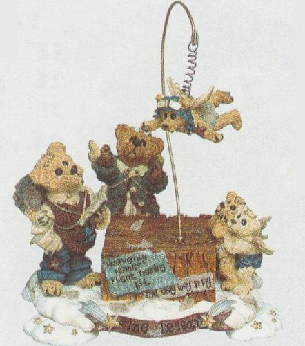 Boyds Bears The Flying Lesson This End Up Retired 22781