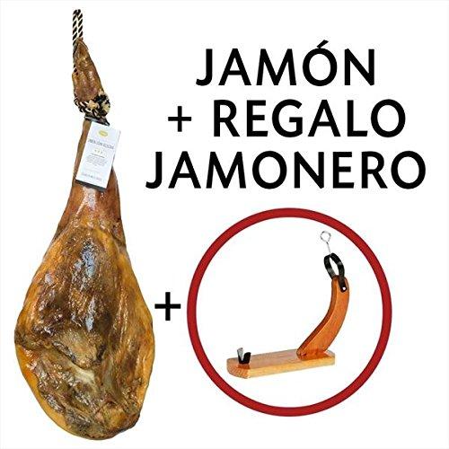 JAMÓN GRAN RESERVA Selección Paladar + Jamonero: Amazon.es: Alimentación y bebidas
