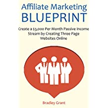 Affiliate Marketing Blueprint: Create a $3,000 Per Month Passive Income Stream by Creating Three Page Websites...