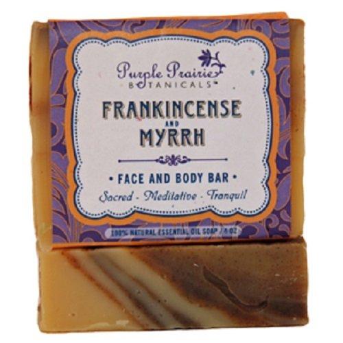 Frankincense & Myrrh Facial Cleansing Bar Soap- 3 Pack