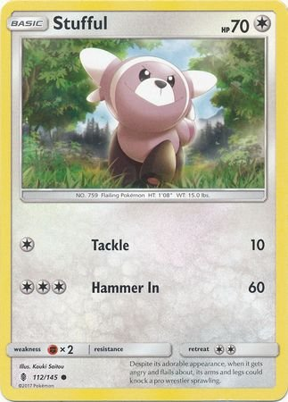 Image result for stufful pokemon card