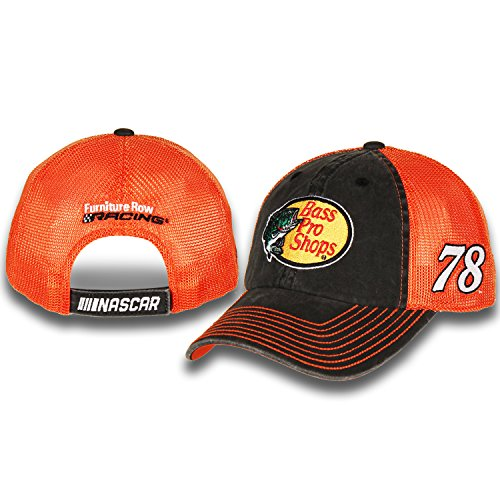 Martin Truex Jr #78 Bass Pro Shops Nascar 2018 Sponsor Trucker Mesh Hat / Cap