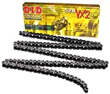 D.I.D 520VX2-140 Steel 140-Link High Performance X-Ring Chain with Connecting Link