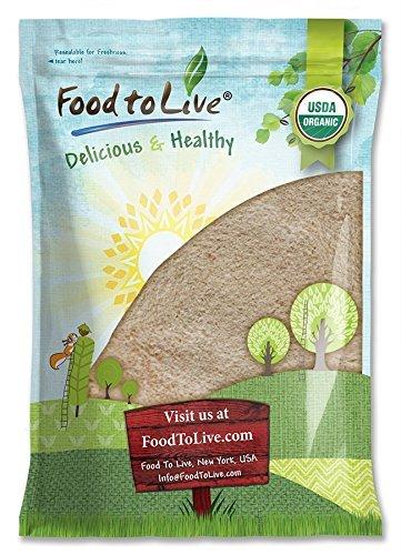 Food to Live Harina de espelta entera Bio certificada (Eco, Ecológico, no OGM
