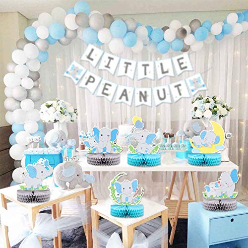 Baby Shower Decorations 6 PC Boy Theme Table Centerpieces Party Supplies BLUE