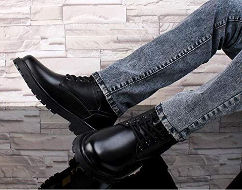 Imbottiti Spesso Hy In Un Grandi Fondo Da Più Formali Militari Di Lavoro Stivali Scarpe Uomo Con Caldi Inserti Uomo Dimensioni Velluto Martins grg8P