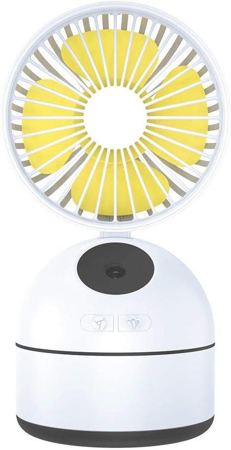 Ventilador USB Portátil Dormitorio Blanco Escritorio Superficie ...