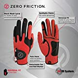 Zero Friction Men's Golf Gloves, Left Hand, One