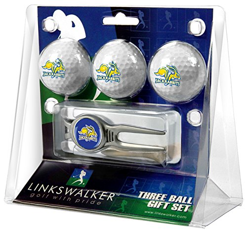 South Dakota Ball Golf (South Dakota State Jackrabbits - Kool Tool 3 Golf Ball Gift Pack)
