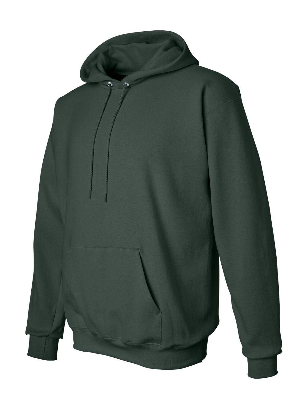 Hanes Men's Pullover Ultimate Heavyweight Fleece Hoodie, Deep Forest, Small