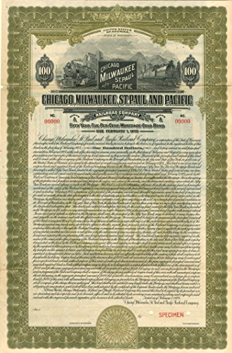 Chicago, Milwaukee, St. Paul and Pacific Railroad Company - $100 ()