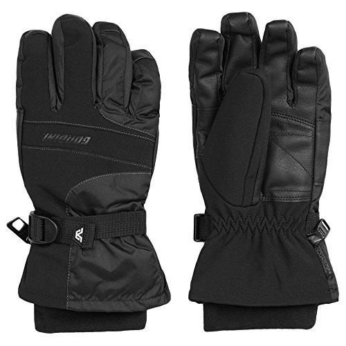Gordini Men's Aqua Bloc VIII Gloves, Black, Large