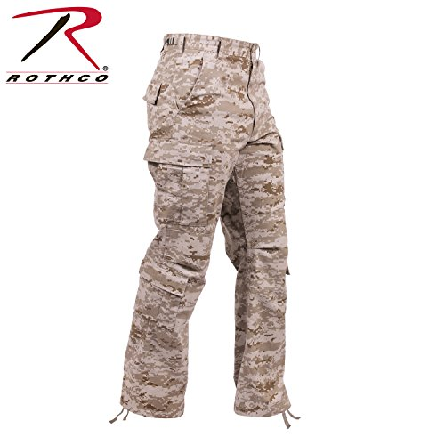(Rothco Vintage Paratrooper Fatigue-Desert Digital Camo, Large)