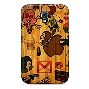 NikRun Galaxy S4 Well-designed Hard Case Cover Icons Protector