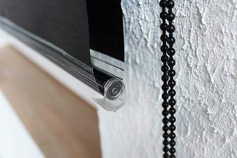 Victoria M. - Estor doble enrollable (para ventanas y puertas) 145 x 175 cm, Púrpura: Amazon.es: Hogar