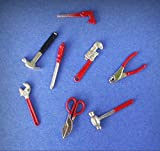Miniature Dollhouse Set of Tools 1:12 Scale New - My Mini Garden Dollhouse Accessories for Outdoor or House Decor