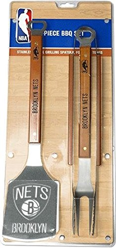 Juego de barbacoas de 3 piezas de acero inoxidable, diseño de brooklyn: Amazon.es: Hogar