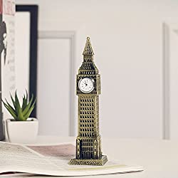 Continental Retro British Big Ben Creative Home Furnishing Metal Ornament London Big Ben Handicrafts
