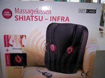 Cojín de masaje Shiatsu Infra - con ocho cabezas de masaje ...