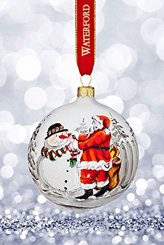 Waterford Magic Christmas Painted Ball Ornament