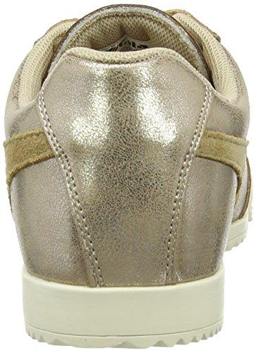 Gola Womens Harrier Metallizzato Moda Sneaker Oro