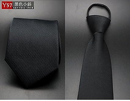 WUNDEPYTIE Corbata de moño con Cremallera y Corbata de poliéster ...