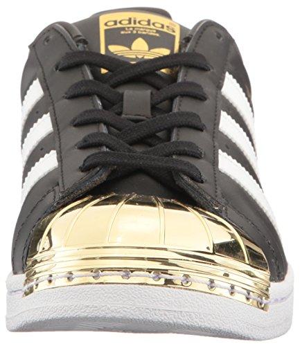 Adidas Originals Kvinners Super Metall Tå W Skatesko Cblack, Ftwwht, Goldmt