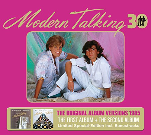 CD : Modern Talking - First & Second Album 30th Anniversary (Germany - Import, 3 Disc)