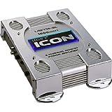 Legacy LA2770SL 2 Channel 1000 Watt Bridgeable Mosfet Amplifier (Silver)