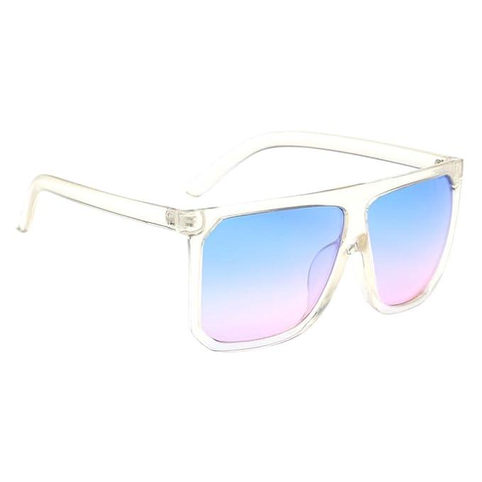 MagiDeal Occhiali Da Sole Riflettenti Vintage Moda Occhiali Eyewear per Donna Uomo - Rosa, Taglia unica