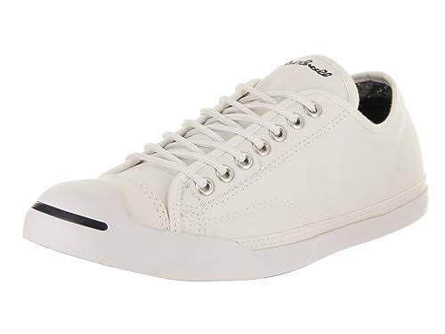 fad54f382f42 Converse Unisex Jack Purcell LP L S Ox White Skate Shoe 7.5 Men US ...