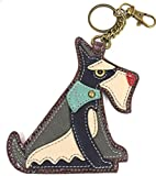 Chala Coin Purse/ Key Fob (2017 -New Design) (Schnauzer)