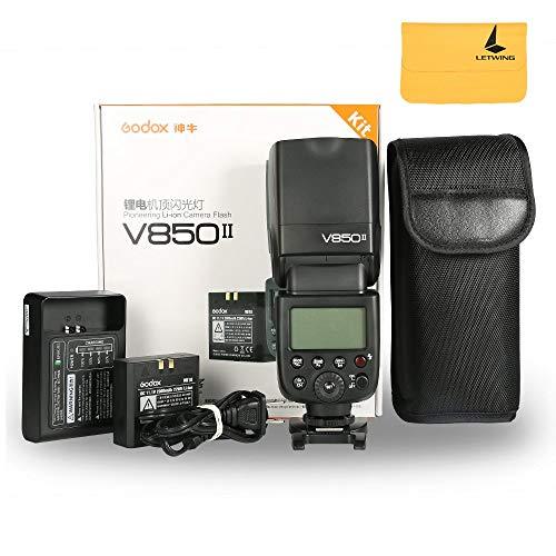 Godox V850II Ving GN60 2.4G 1/8000s HSS Camera Flash Speedli