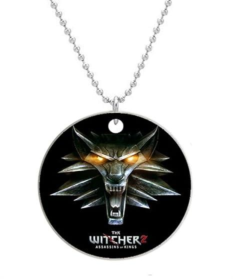 El Witcher personalizado diseño personalizado redondo ID de ...