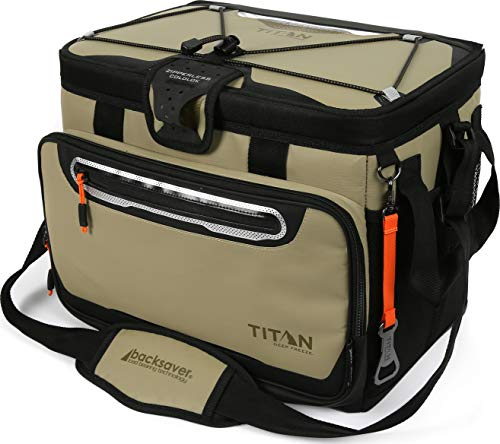 Arctic Zone Titan Deep Freeze 30 Can Zipperless HardBody Cooler, Moss (Best Small Cooler Bag)