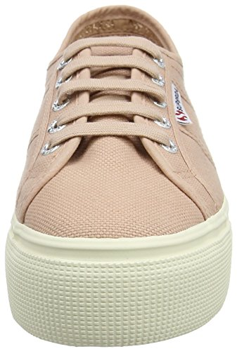Down Superga Sneaker Mahogany and Linea Rose Pink 2790 Acotw Up Donna fZCqxrfw