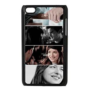 J-LV-F Fifty Shades of Grey Phone Case For Ipod Touch 4 [Pattern-6]