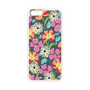 IPhone 6 Case Beautiful Blooms, IPhone 6 Case Blooms, [White]