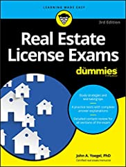 Your ticket to passing the real estate license exam In order to become a licensed real estate agent, you must pass your state's real estate licensing exam–and with this hands-on guide, you'll get everything you need to succeed. Inside, you'll...