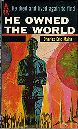 Very Good T-524 Charles Eric Maine 1960 Science Fiction He Owned The World